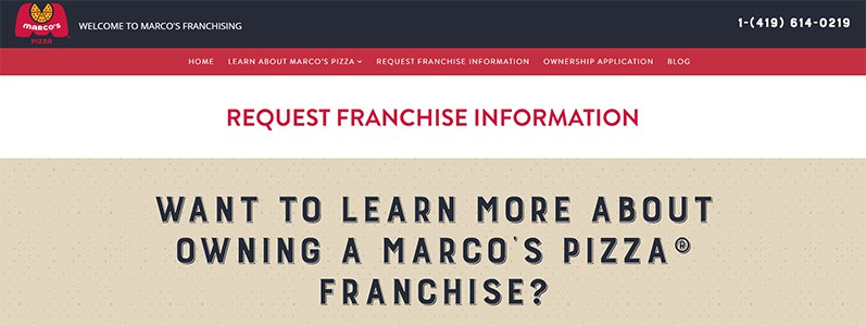 Marco's Pizza Franchise Business Plan – Writer's tips and thoughts